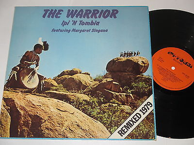 LP/THE WARRIOR/IPI N TOMBIA/FEAT MARGARET SINGANA/Remixed 1979/RTL 4028