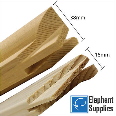 Canvas Stretcher Bars, Canvas Frames, Pine Wood 18mm & 38mm Thick - Sold By Pair