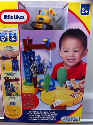 Little Tikes Carry N Go Junkyard Playset~~Bnib