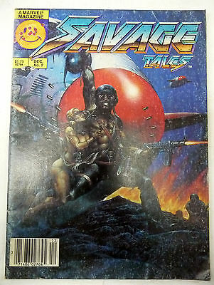 savage tales 2 marvel magazine 1985