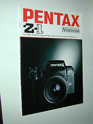 PENTAX  Z1 catalogue publicitaire photographie photo
