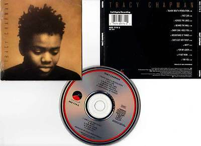 "TRACY CHAPMAN ""Tracy Chapman"" (CD) 1988"