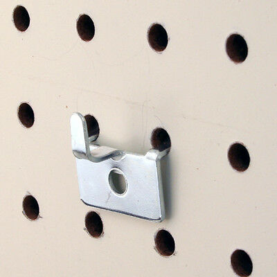 Pegboard Utility Notch Hook - Picture hook - Chrome - 50 Pieces