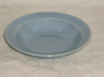 T.S.& T. LuRay Pastel Blue Berry Bowl with Rim