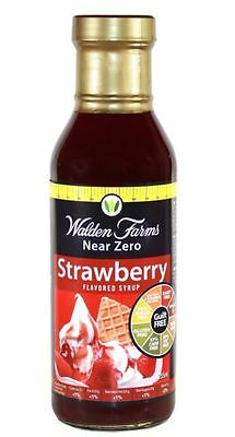 Walden Farms Near Zero Calorie Syrup - Carb Free - Fat Free - All Flavours