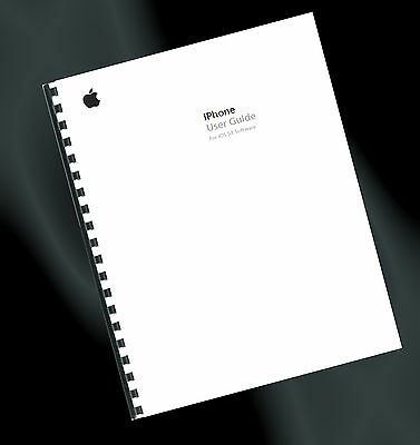 ~ PRINTED ~ Apple iPhone 4s Mobile User Guide, Instruction Manual (iOS 5.1)