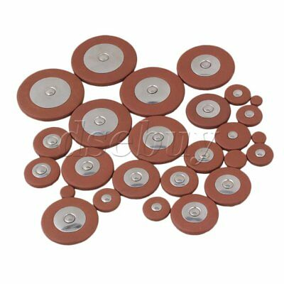 25 orange Saxophone Leather Pads For Alto Saxophone