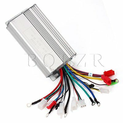 Electric Bike Brushless Motor Controller 48V 500W 30A for Electric Scooters