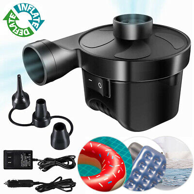 New Two Nozzles High Power Electric Balloon Inflator Air Pump For Wedding Party