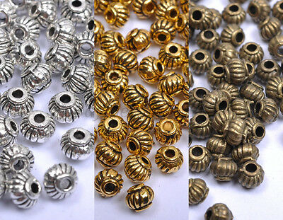 Wholesale Tibetan Silver & Gold & Bronze , Charms Spacer Beads 5X4MM A276