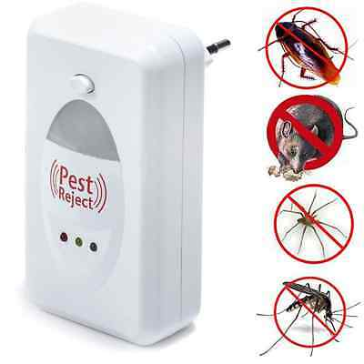 Pest Control Insect Repellent Ultrasonic Repeller Rodent Spider Mice Rat