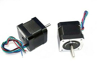 NEMA17 Single Shaft 1A/63 oz-in Stepper Motor - Lot of 5