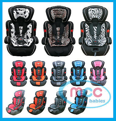 Mcc 3 in 1 Baby Child Car Safety Booster Seat For Group 1/2/3 9-36kg ECE R44/04
