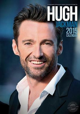 Sale !! Sale Hugh Jackman 2015 Large Size Wall Calendar New And Factory Sealed