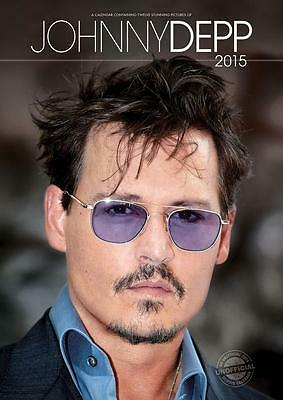 Johnny Depp 2015 Large Size Wall Calendar New And Factory Sealed By Red Star