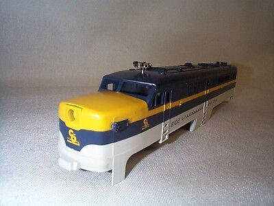 """Lionel American Flyer 48102 """"8102"""" C&O Chesapeake PA Power A-Unit Shell NOS!"""
