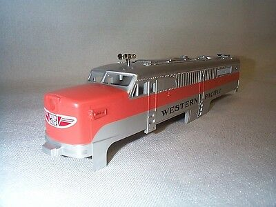 """Lionel American Flyer 48120 """"804-A"""" WP Western Pacific PA Power A-Unit Shell NOS"""