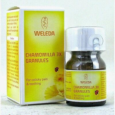 Weleda Chamomilla Teething Remedy Granules 15g