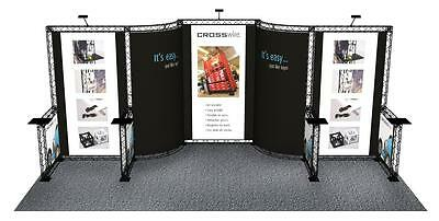 10' x 20' Trade Show Booth Exhibit Stand Truss