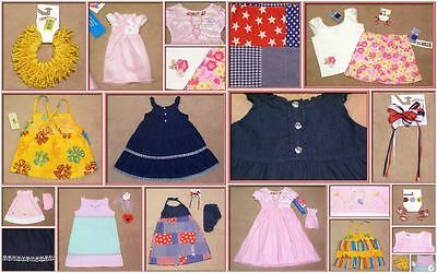 Girls Size 4 4T Nwt Lot Of 7 Outfits & Accessories Spring Summer New
