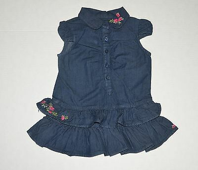 Cute Baby Girl Denim Dress by Guess