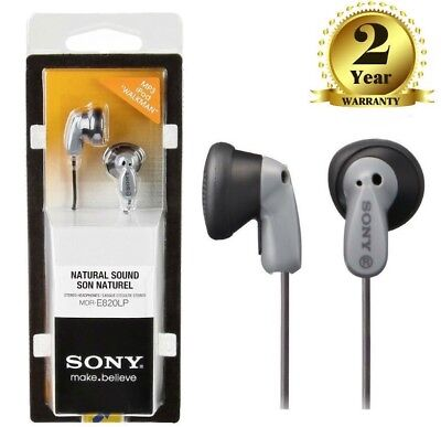Sony MDR-E820LP Stereo In-Ear Headphones Earphones for MP3,Ipod & Walkman New