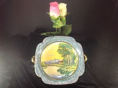 ANTIQUE NORITAKE HANDPAINTED BOWL WITH RED MARK 1921 - 1924