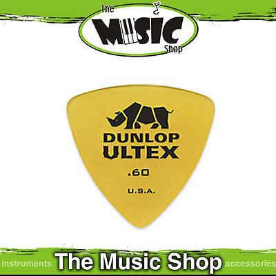 20 x Jim Dunlop .60mm Ultex Triangle Guitar Picks - 60UXT