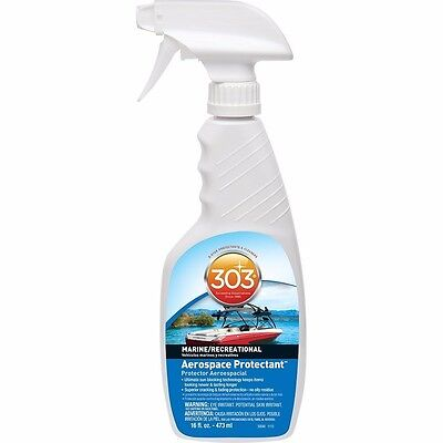 303 Boat Marine Auto Aerospace Protectant 16oz Brightens Surfaces Restores Color