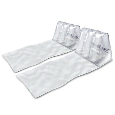 The Air Wedge™ Portable Inflatable Lounger 2-Pack