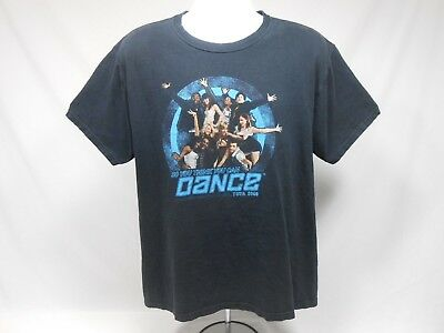 So You Think You Can Dance - 2007 - Black Concert Tour T-Shirt - Large