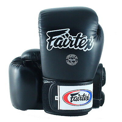 FAIRTEX MUAY THAI BOXING GLOVES BGV1 DARK CLOUD SPARRING KICK MMA