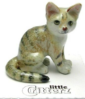 "Little Critterz Miniature - Sand Cat named ""Dune"" - LC976 (Buy 5 get 6th free!)"