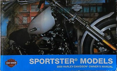 oem harley davidson sportster models 2009 owner manual 99468 09 rh picclick com Cartoon Manual Service Manuals