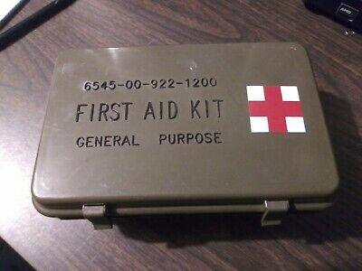General Purpose First Aid Kit Mint with Contents