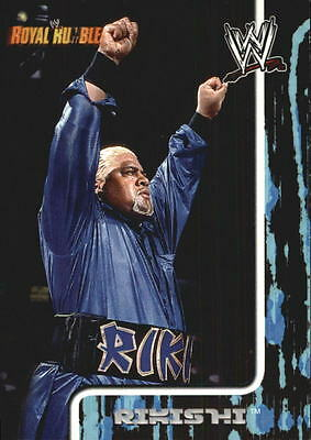 2002 Fleer WWF Royal Rumble #64 Rikishi