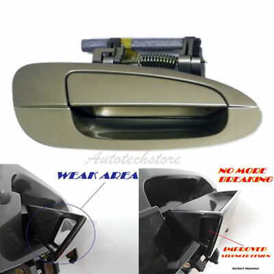 Outer Door Handle For 2002-2006 Nissan Altima Front L /& R Gold EY1 Set 2 DS245