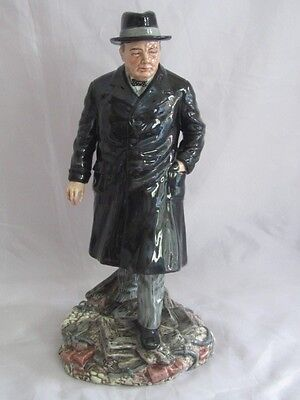 Royal Doulton Pottery Winston Churchill HN #3433 Figurine