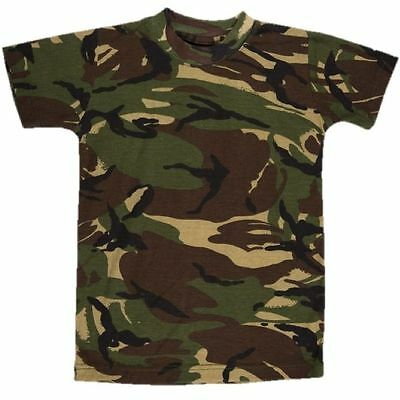 d9c0e324b KIDS ARMY SNIPER T Shirt Military Fancy Dress Up Soldier Childrens ...