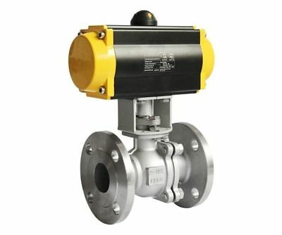 "2-Piece Ball Valve Flanged (1/4"")"