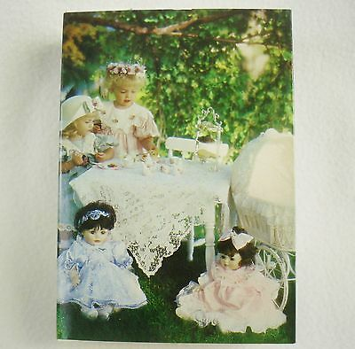 NEW Marie Osmond Fine Porcelain Doll Mother's Day Greeting Card Knickerbocker