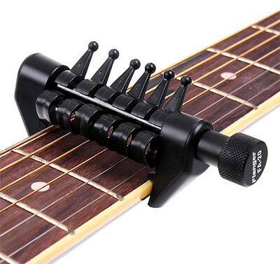 Capo Open Tuning For Acoustic Guitar Strings Like A Spider