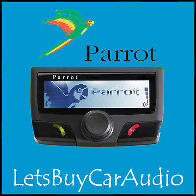 PARROT CK3100 BLUETOOTH HANDSFREE CAR KIT BLACK EDITION FOR iPHONE