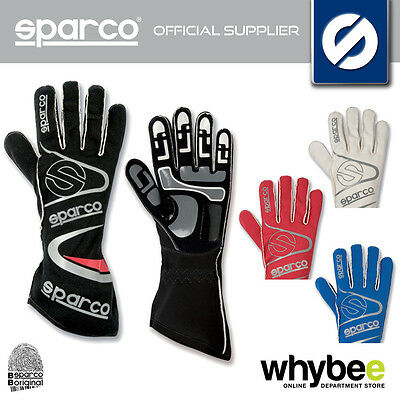 New! 002532 Sparco Arrow K-7 K7 Karting Gloves Kart Red / Blue / Black / White