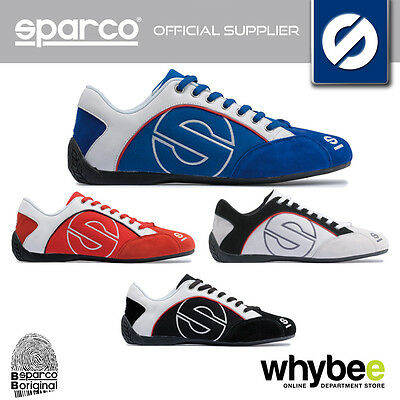 NEW! SPARCO RACING 'ESSE' CANVAS LEISURE SHOES TRAINERS for PIT CREW / PADDOCK