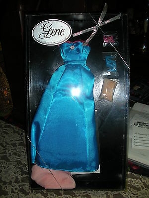 """""""Gene Doll"""" #I07220 """"BLUE EVENING"""" Costume, NEW and Never Been Out Of The  Box"""
