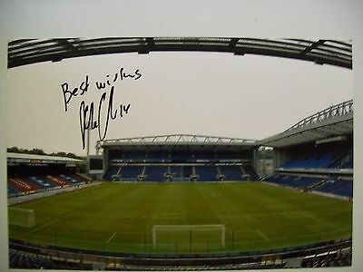 A 12 x 8 inch photo personally signed by Markus Olsson of Blackburn Rovers.