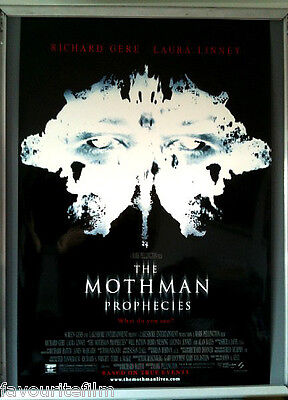 Cinema Poster: MOTHMAN PROPHECIES 2002 (Main US One) Richard Gere Laura Linney
