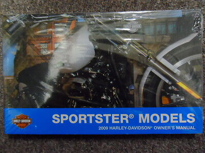 2009 Harley Davidson Sportster Owners Operators Owner Manual FACTORY NEW