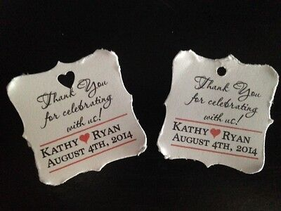 Wedding Thank You Gifts Who Gets : Wedding Favor Tags Thank You Celebration Personalized Gift Tag Buy 2 ...